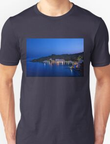 Blue hour in Loutro - Sfakia, Crete Unisex T-Shirt