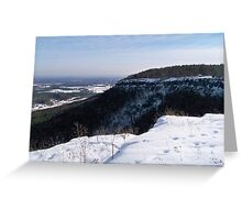 John Boyd Thacher State Park  Greeting Card