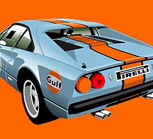 Ferrari 308 GTB Group 4 Gulf by car2oonz