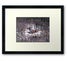Home in the Catskills Framed Print
