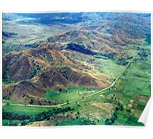 Aerial View. Mindoro Poster