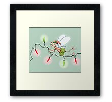 The Christmas Fairy Framed Print