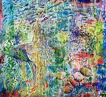 Fishscape - oil on canvas by Regina Valluzzi