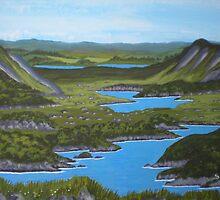 Lakes of Killarney by Samuel Ruth