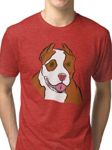 Red Nosed Pit Tri-blend T-Shirt