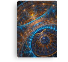 Steampunk Astronomical clock  Canvas Print