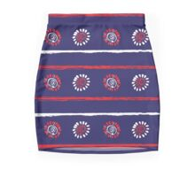 America is Beautiful navy  Mini Skirt
