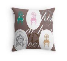 Jane Austens world Throw Pillow