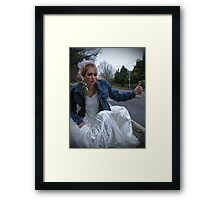 I Was Born to Walk Alone 05 Framed Print