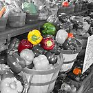 Farmer's Market - Selective Coloring by BarbL
