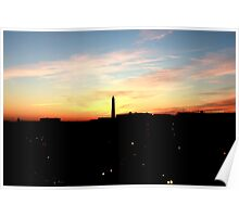 Washington Monument Poster