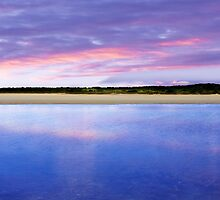 Coorong Sunset II - Limestone Coast, South Australia by Mark Richards
