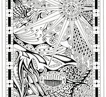 Pen & Ink 5 by Jeno Futo