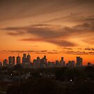 Sunset - Melbourne by Stephen Greaves