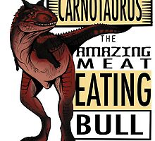 The Amazing Meat Eating Bull by randomzness