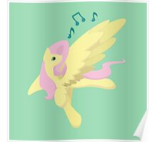 Sing Along Fluttershy Poster