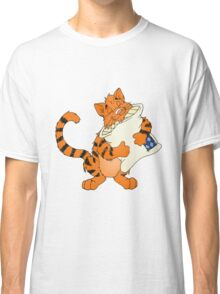 Cat and His Pillow Classic T-Shirt
