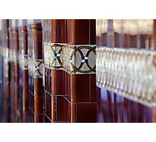 You Play Noughts, I'll Play Crosses Photographic Print