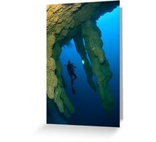 Blue Hole, Belize Greeting Card
