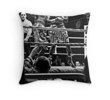 Blue Horizon Boxers 2 Throw Pillow