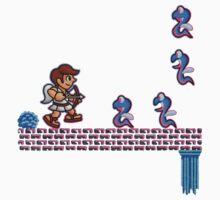 Shemum Snakes One Piece - Short Sleeve