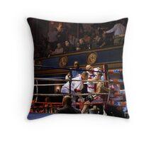 Blue Horizon Boxers 6 Throw Pillow