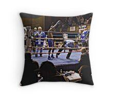 Blue Horizon Boxers 7 Throw Pillow