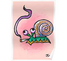Snail Daze Poster