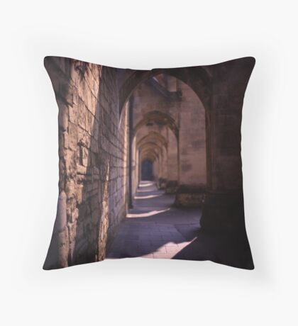Cathedral arches Throw Pillow
