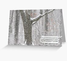 Porch/ Forest Swing?? Greeting Card
