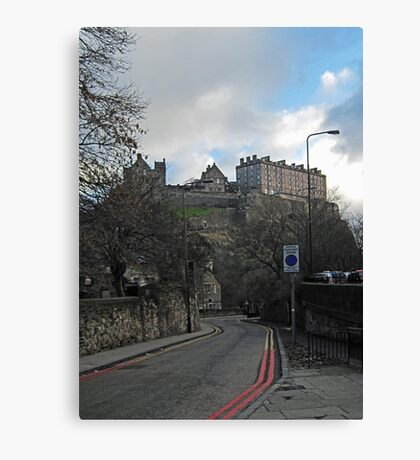 Kings Stables Road View Canvas Print