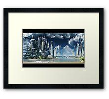 season city V1 Framed Print