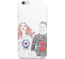 Each Other's Fans  iPhone Case/Skin