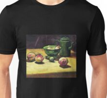 The Green Collander, oil painting on board. Unisex T-Shirt