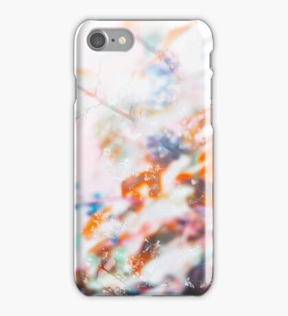 Nature abstract #4 iPhone Case/Skin