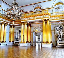 Golden Pillars by Braedene