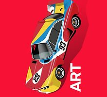 Art Car (red) by robgould1972