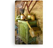 The Old Homestead, Lavendula Farm, Daylesford Canvas Print
