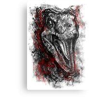Velociraptor! Metal Print