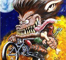 Werewolf on Wheels by John Detrich