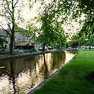 Bourton-on-the-Water by Morag Bates