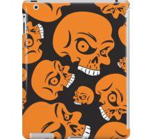 The Orange Skull - Halloween Skulls iPad Case/Skin