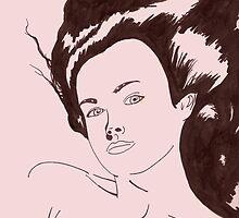 girl bed pink by delvisjr