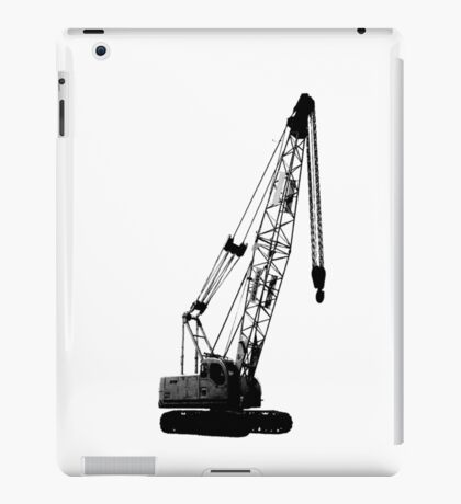 black crane iPad Case/Skin