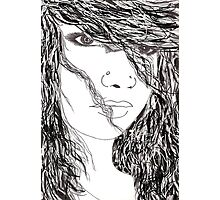 girl hair Photographic Print
