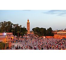 Koutoubia Mosque Photographic Print