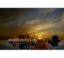 Making Night on an Island Photographic Print