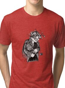The Goggled Gentleman Tri-blend T-Shirt