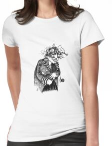 The Goggled Gentleman Womens Fitted T-Shirt