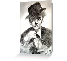Bette Davis #2 - ACEO Greeting Card